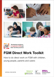 Direct Work Toolkit picture of front cover.
